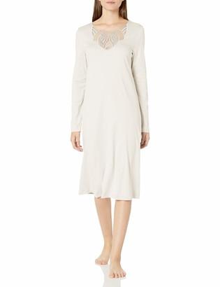 Hanro Women's Adina Long Sleeve Gown