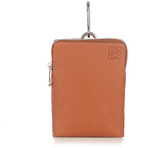 Loewe Clip-on mini leather pouch