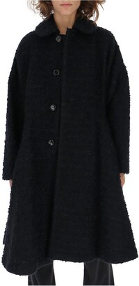 Comme des Garcons Classic Collar Flared Button Coat