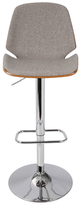 Lumisource Serena Adjustable Barstool with Swivel