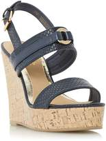 Head Over Heels KAYLEE - Two Part Cork Wedge Sandal