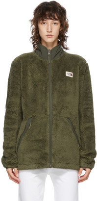 The North Face Green Fleece Campshire Jacket