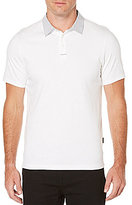 Perry Ellis Pima Short-Sleeve Solid Polo Shirt