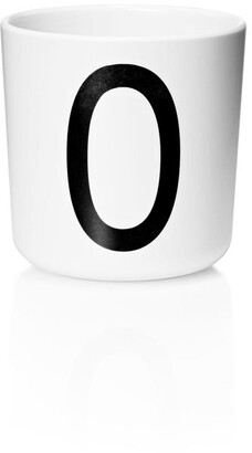 Design Letters Personal Melamine Cup - O
