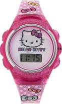 Hello Kitty Kids Flashing Digital Watch