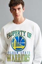 Urban Outfitters Golden State Warriors Crew Neck Sweatshirt