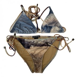 We Are Handsome Gold Swimwear for Women