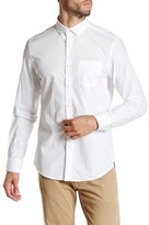 Kenneth Cole New York Solid Button Modern Fit Shirt