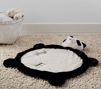 Pottery Barn Kids Panda Faux-Fur Plush Play Mat