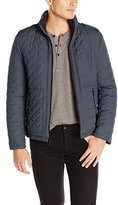 Kenneth Cole Reaction Men's Zip Front Quilted Hipster