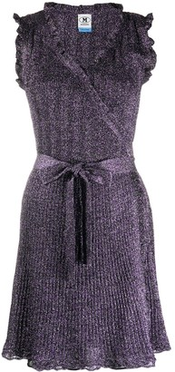 M Missoni Knitted Wrap Dress