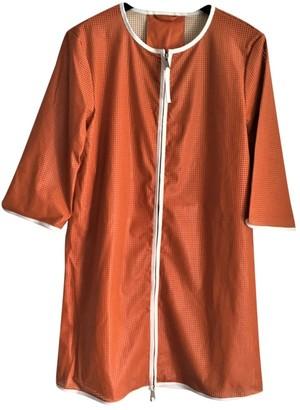 Elisabetta Franchi Orange Jacket for Women
