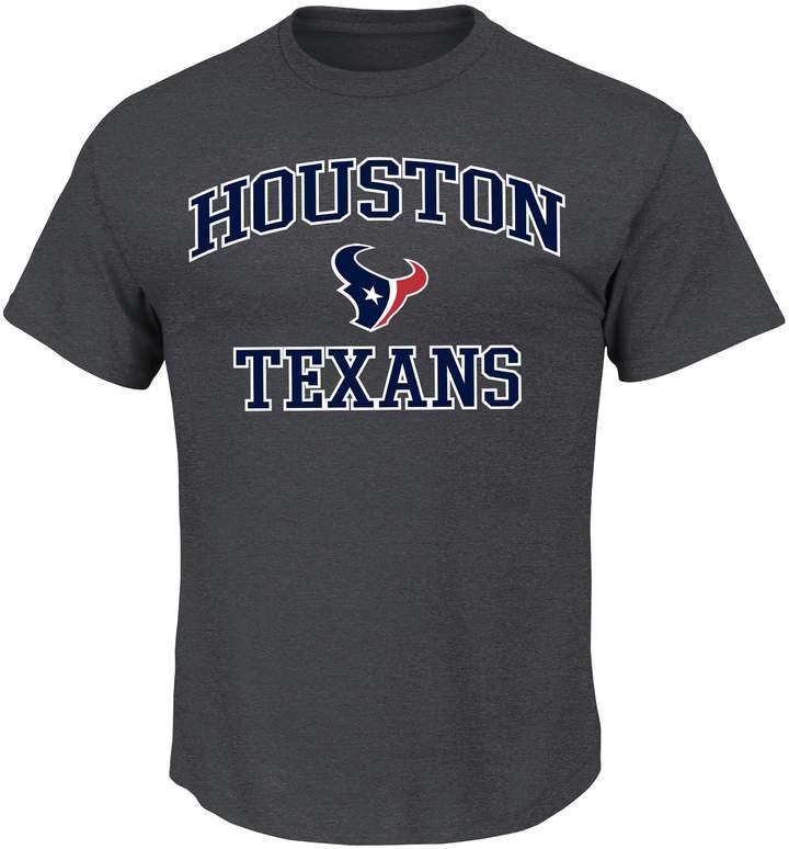 Majestic Big & Tall Houston Texans Heart & Soul Tee