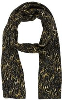 Thomas Wylde Abstract Printed Wool Scarf