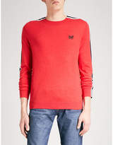 Diesel K-tape Knitted Cotton-blend Jumper