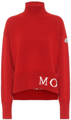 Moncler Turtleneck wool-blend sweater