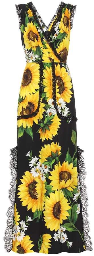 e4799abe93b58 Dolce & Gabbana Yellow Print Dresses - ShopStyle