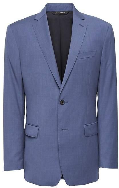 Banana Republic Standard Blue Italian Wool Suit Jacket