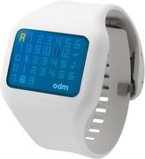 o.d.m. Men's DD126-8 Illumi Digital White Watch