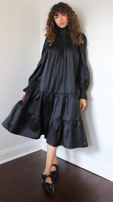 AVAVAV Midi Ruffle Dress