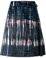 Tomas Maier abstract print skirt