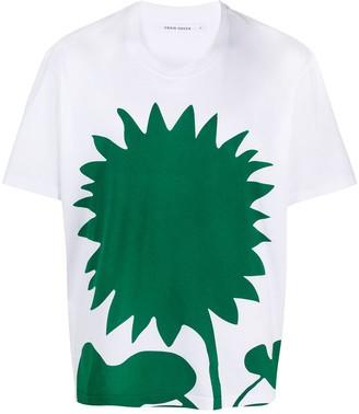 Craig Green sunflower print T-shirt