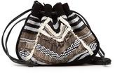 MANGO TOUCH - Beads bucket bag