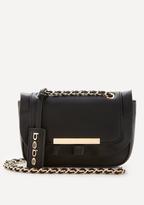 Bebe Ruffle Crossbody Bag