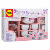 Alex Chasing Butterflies Ceramic Tea Set 13-pc. Play Food