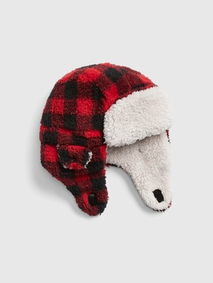 Gap Toddler Buffalo Plaid Trapper Hat