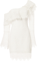 Nicholas Antique One Shoulder Eyelet Dress
