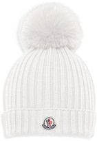 Moncler Girls' Berretto Foldover Hat - Sizes S-L