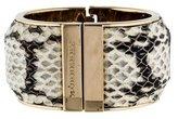 Burberry Python Cuff Bracelet