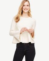 Ann Taylor Flare Cuff Sweater