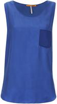 BOSS ORANGE Women's Kathna Vest Top Blue