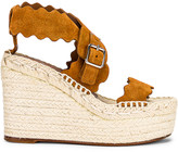 Chloé Lauren Espadrilles in Natural Brown | FWRD