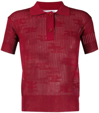 Courreges Slim-Fit Polo Shirt