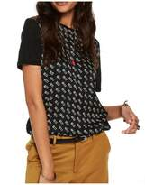 Scotch and Soda Jersey Mix T Shirt