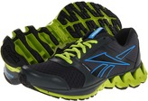 Reebok Kids - ZigKick Alpha (Big Kid) (Gravel/Sonic Green/Risk Blue/Black) - Footwear