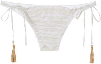 Track & Field Tassel Bikini Bottoms