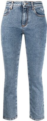 MSGM Skinny Cropped Jeans