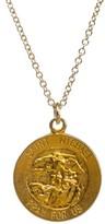 Dogeared Women's Saint Michael Pendant Necklace