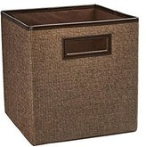 ClosetMaid 10.5 in. x 11 in. x 10.5 in. Toffee Linen Fabric Drawer
