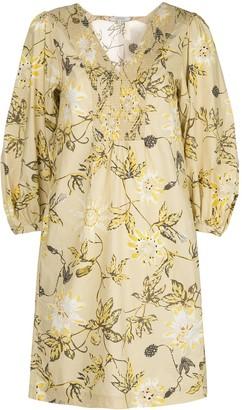 Dorothee Schumacher Floral Print Shirt Dress