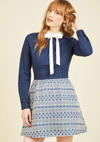 English Factory Only Up From Here Shirt Dress
