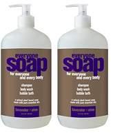 Alöe Everyone 3-In-1 Soap, Lavender plus Aloe, 32 oz, 2 Count