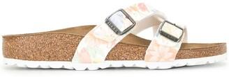 Birkenstock Yao floral print sandals