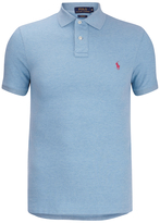 Polo Ralph Lauren Short Sleeve Custom Fit Polo Shirt French Turquoise