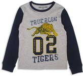 True Religion Boys' Varsity Tiger Tee - Sizes 2-7