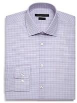 John Varvatos Star Usa Checked Graph Slim Fit Dress Shirt